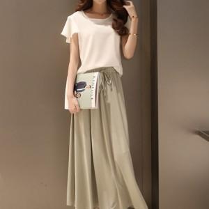 雪纺连衣裙裙子两件套中长款修身显瘦裙装气质长裙半身裙
