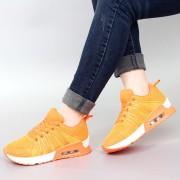 春秋新款气垫跑步鞋系带运动女鞋韩版潮休闲女鞋透气百搭学生单鞋