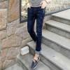 修身弹力男士牛仔裤男小脚青年韩版男装加绒小脚牛仔裤子长裤