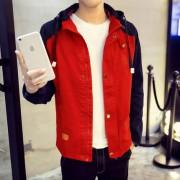 男装春秋季加厚外套韩版秋装学生男士修身青少年休闲潮男夹克衫