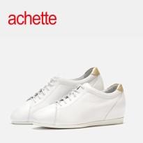 achette雅氏8HE7 2016春夏新款系带女鞋内增高小白鞋运动单鞋walk
