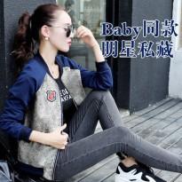 2016新品春装新款棒球服女短外套女装韩版长袖开衫上衣春秋季卫衣