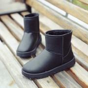 冬季雪地靴女靴平底短靴短筒情侣靴子加厚保暖学生棉鞋男女鞋