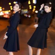风衣女中长款 2016女装春秋新款修身风衣外套 韩版长袖气质风衣潮