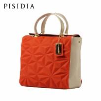 PISIDIA/皮西蒂亚女包手提包真皮大包欧美简约单肩斜挎包