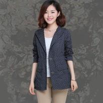 外套 女 春秋 30-55岁女装新款休闲宽松上衣中年妈妈外衣女短外套